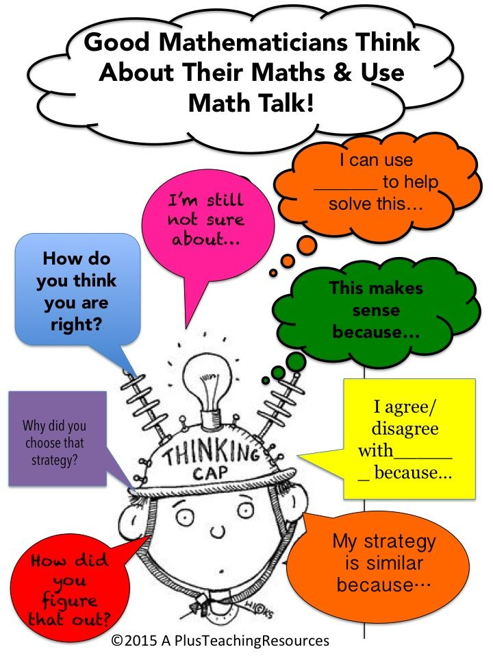 Thinking & Talking About Math is more powerful for the learner than Chanting