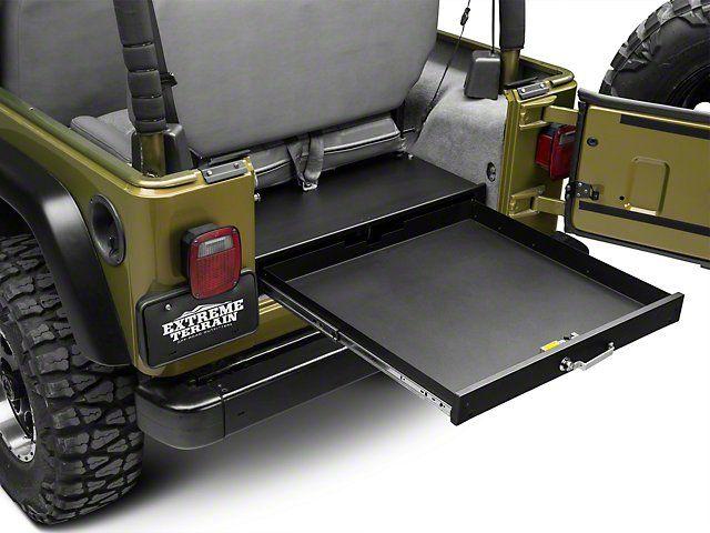 Tuffy Jeep Wrangler Underseat Full Length Locking Drawer 130 01 87 06 Jeep Wrangler Yj Tj Jeep Wrangler Jeep Wrangler Yj Jeep Yj