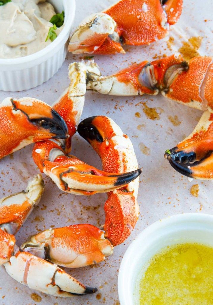 Jonah Crab Claws - steamed and served with Crab Shack mustard sauce and garlic butter
