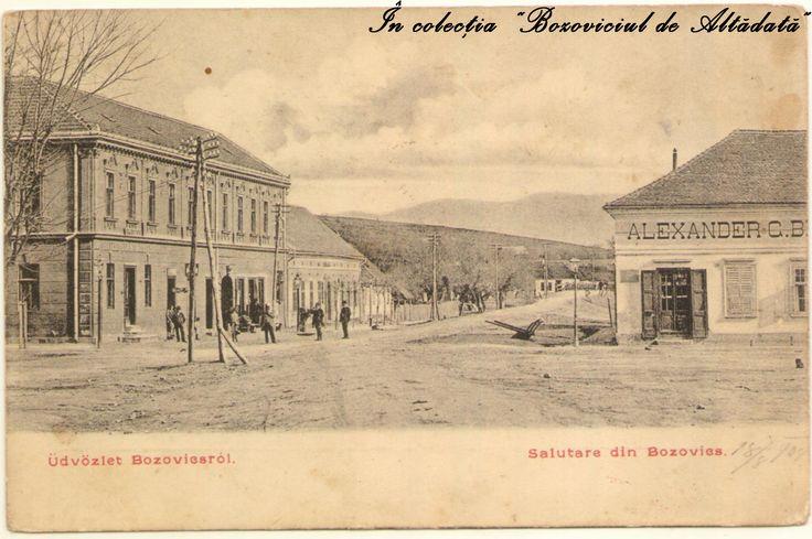 Salutare din Bozovics! Carte postala (aflata in colectia proprie) circulata in 1908. #descoperabozovici (Bozovici. old postcards. vintage postcards)
