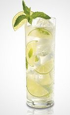 The Lime Twisted Ginito drink recipe is made from Seagram's Lime Twisted gin, mint, lime, sugar and club soda, and served over ice in a highball glass. Just think Mojito, then imagine what a Mojito could be if it tried really hard.