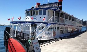 Groupon - Lunch or Dinner Cruise, TGIF Cruise, or Halloween or Christmas Party Cruise from Jubilee Queen (Up to 51% Off) in Jubilee Queen. Groupon deal price: C$29