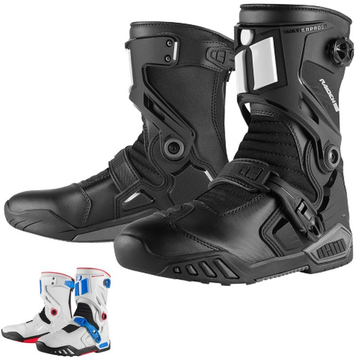 2015 Icon Mens Raiden DKR Motorcycle Street ADV Dirt Bike Off Road Moto Boot