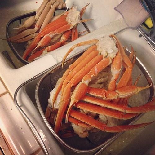 How to cook crab legs in different ways