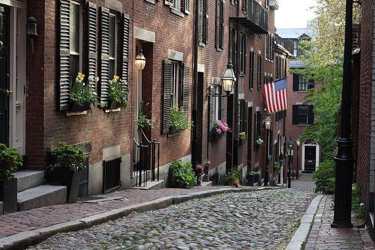 Boston, Massachusetts, USAFun Recipe, Urban Photography, Favorite Places, Boston, Cities Street, Old Town, Old World Charms, Beacon Hills, Acorn Street