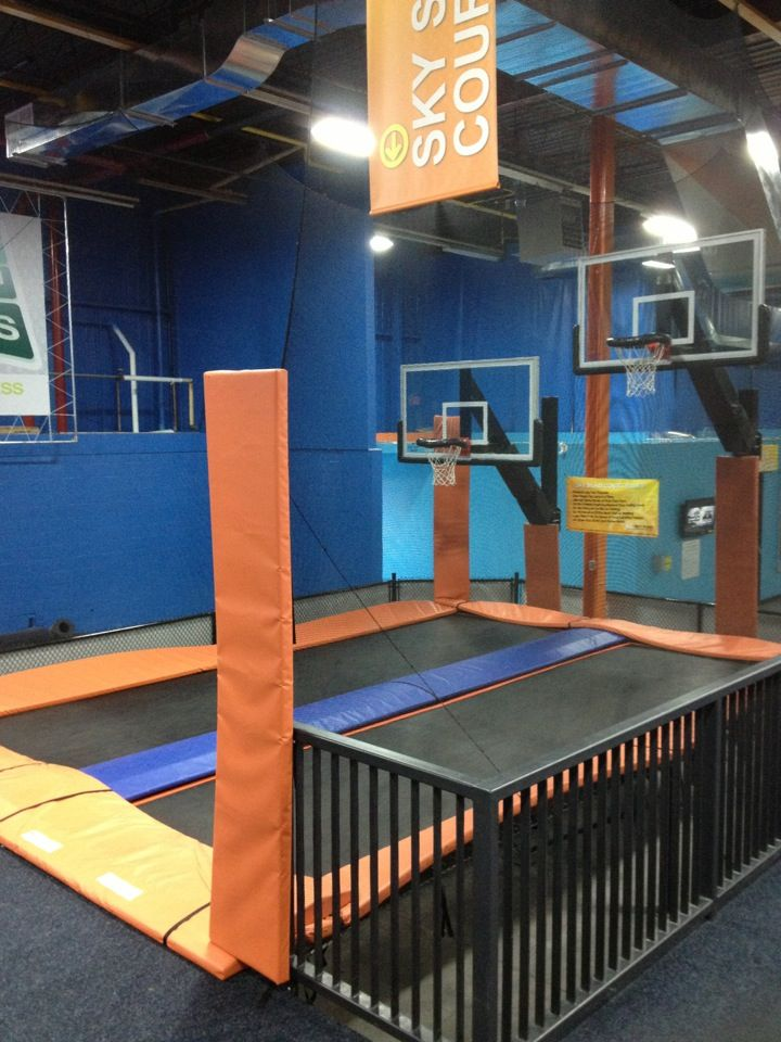 Awesome Sky Zone Indoor Trampoline Park in Toronto ON