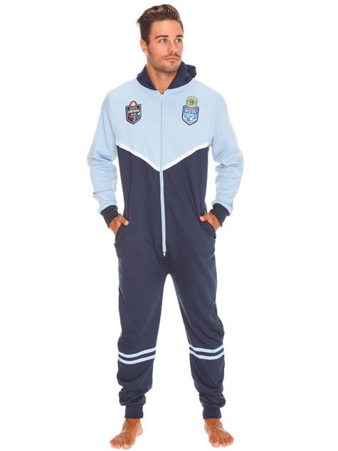 STATE OF ORIGIN must have! GET IT NOW Nsw Nrl Onesie from City Beach Australia