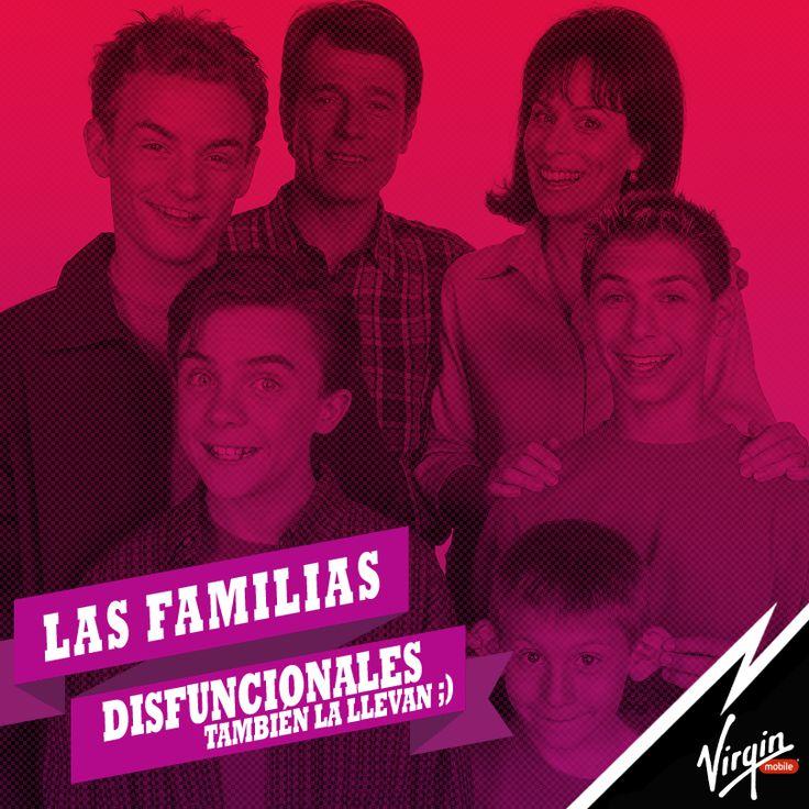 Las familias disfuncionales también la llevan #FelizDiaDeLaFamilia :)