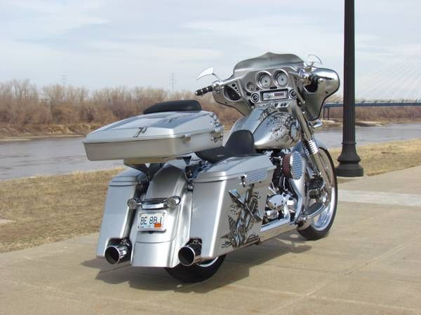 "Custom Bagger for Sale Craigslist | ... HD Street Glide Custom Bagger 23"" Wheel (NKC) 