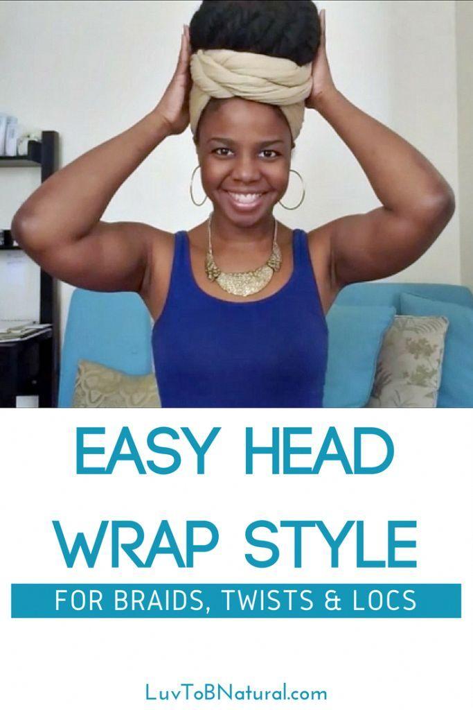head wrap for braids | head wrap | turban | natural hair | marley twists | loc s…   – Head Wraps