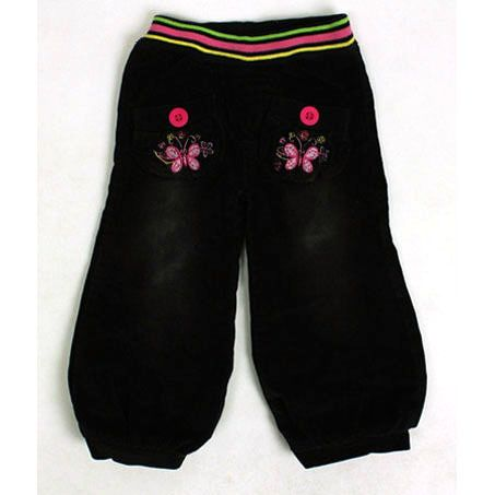 >> Click to Buy << Girls Winter Harem Capris Fleece warm Children Bloomers baby pants red buttons Black Corduroy lacina trousers costumes ZQ NT1 #Affiliate