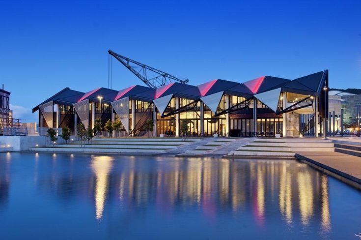 Te Wharewaka o Poneke, Taranaki St Wharf in Wellington, New Zealand by Architecture +