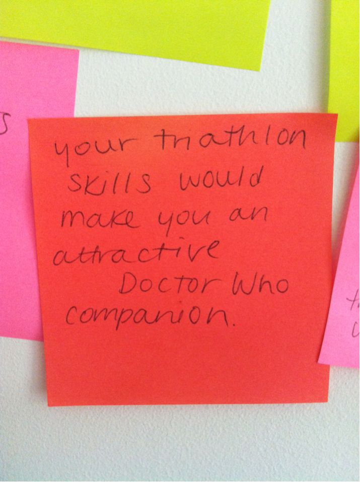 motivational Doctor Who post-its: Wibbl Wobble, Geek Motivation, Wobble Timey, Motivation Doctors, Workout Motivation, Fun Stuff, Doctors Who, Timey Whimey, Clean Body
