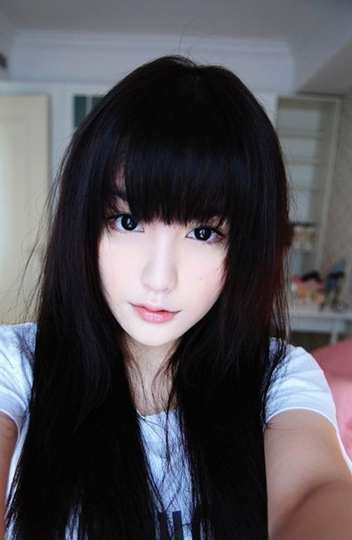 Asian Wavy Hairstyles For Long Hair : Top 25 best long asian hairstyles ideas on pinterest asian