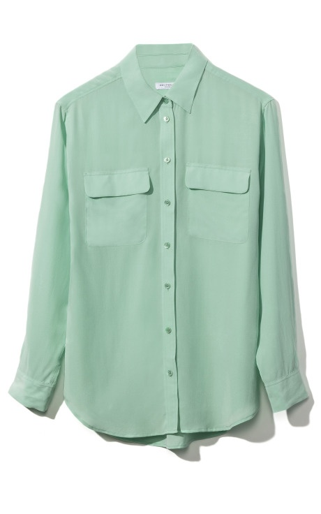 Great color: Equipment Signature Blouse