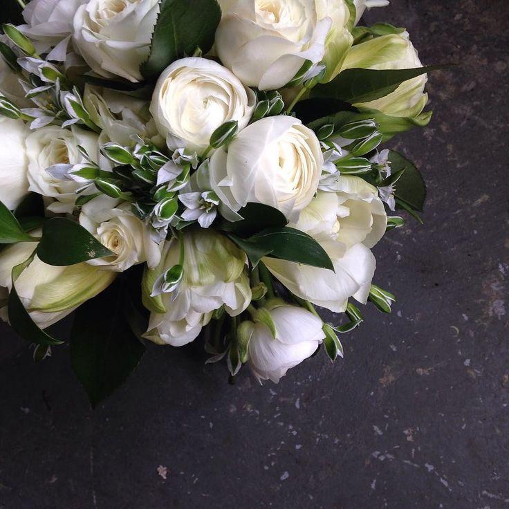 Dear Ornithogalum You complete me. Love Bridal Bouquet
