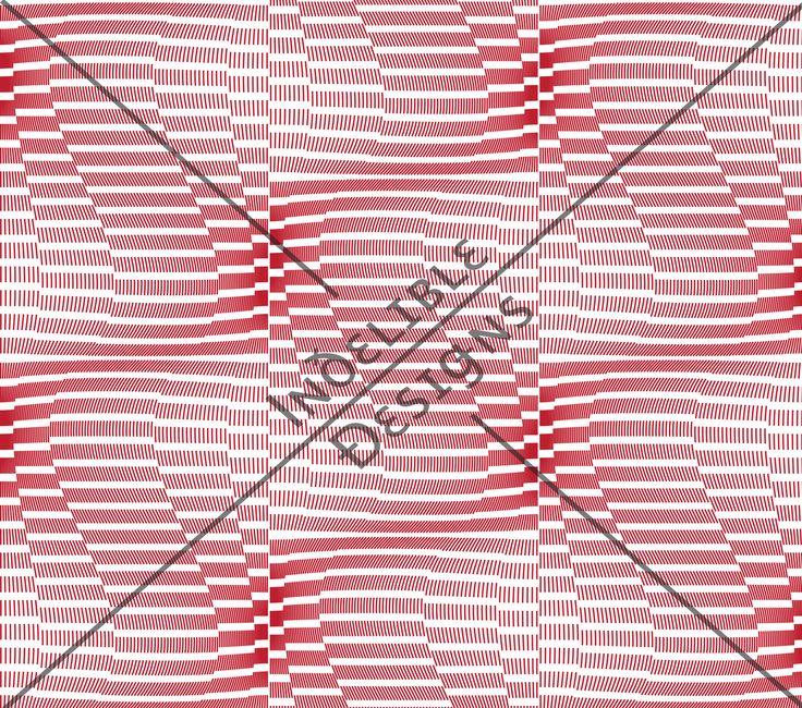 ID#47CE — Iɴðɛʟɪʙʟɛ Ðɛsɪǥɴs #screenprint #printdesign #textiledesign #textileprint #movement #red #linear #layer #white #perspective #line