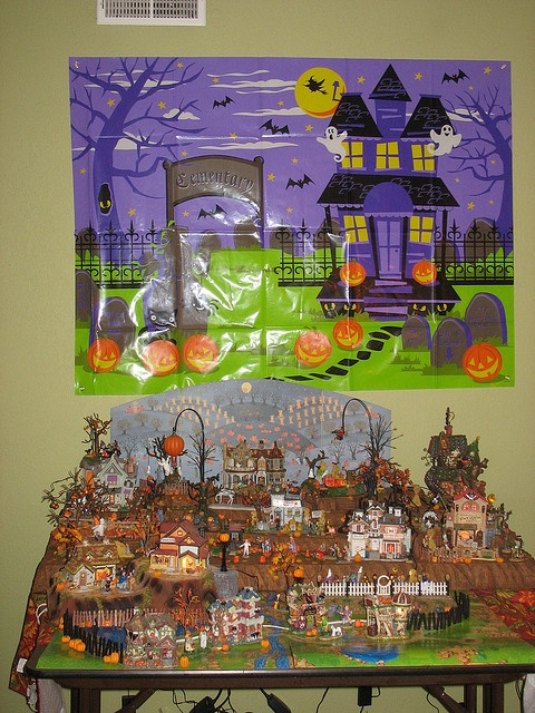 halloween village display dept 56 halloween display home halloween village melody