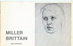 MILLER BRITTAIN: EARLY DRAWINGS EXHIBITION AND SALE 1977 London Ontario image 1