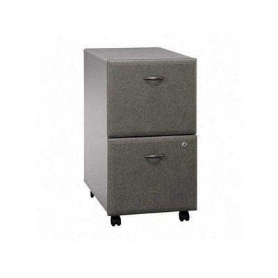 Unique 2 Drawer Vertical Mobile File Cabinet