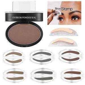 a ceja sombra polvo maquillaje cejas sello delicated paleta resistente al agua