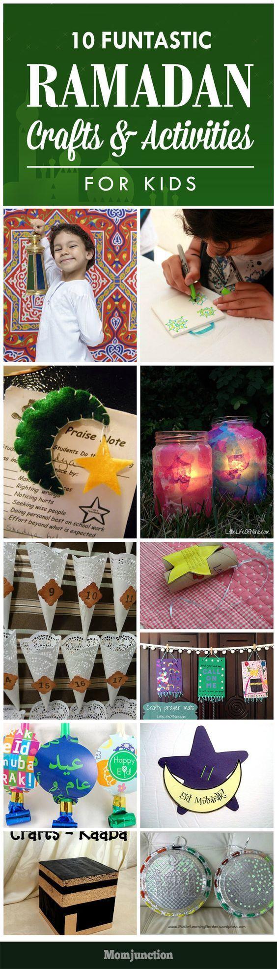 10 Funtastic Ramadan Crafts And Activities For Kids