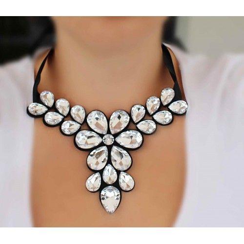 Náhrdelník Grandessa Clear | Womanology.sk #nahrdelnik #necklace #chokernecklace #necklaces #bijouterie #halskette #bijoux #schmuck #accessories #fashionjewelry #fashionjewellery #modeschmuck #accessories #doplnky #womanology