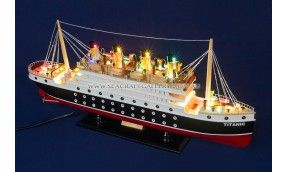 RMS Titanic Cruise 60cm with lights