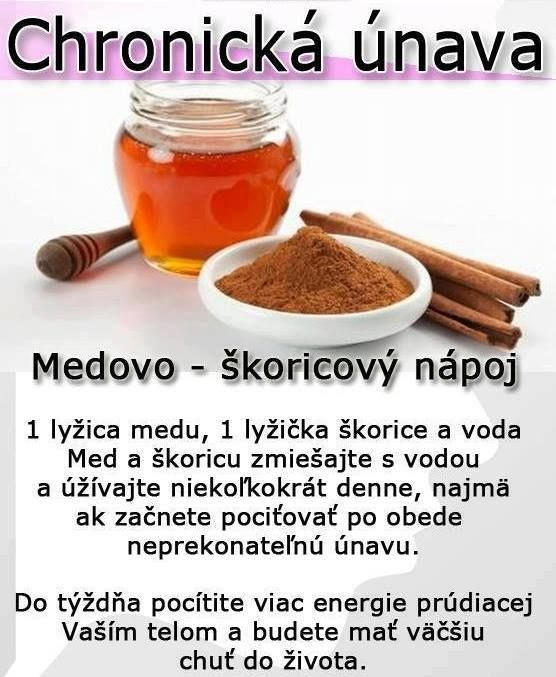 Recept na chronickú únavu
