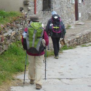 Camino de Santiago Pilgrimage Walkers - Wendy Bumgardner © 2013
