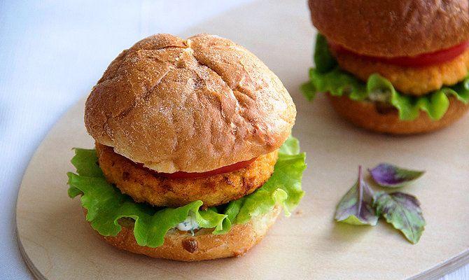 Рыбный бургер: пошаговый рецепт с фото и видео