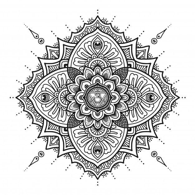 Third Eye Mandala Design Coloring Book Or T Shirt Print Mandala Design Designs Coloring Books Coloring Books