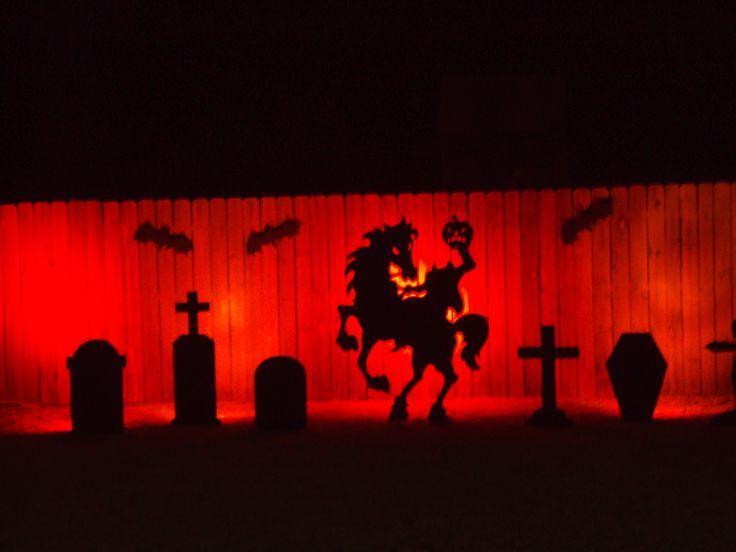 halloween lights on york ave