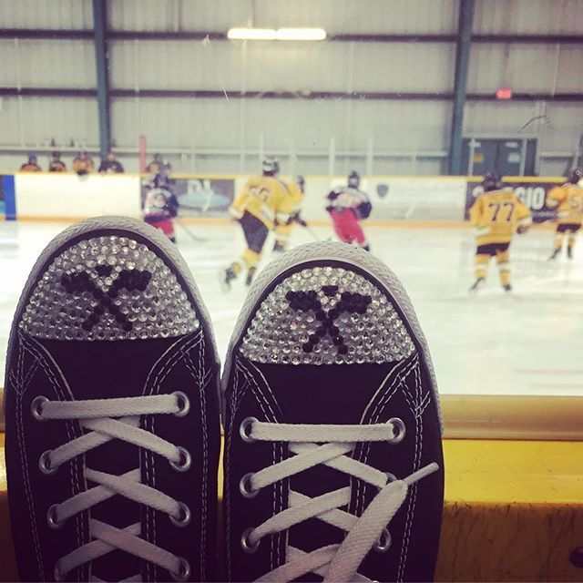 Such an awesome hockey tournament this weekend! Love our team! Go Rebels! #hockey #hockeymom #tournament #hockeyfamily #trickedkicks