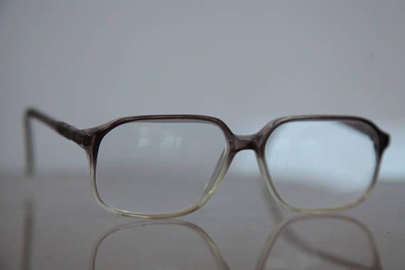 Vintage KT AQUAMARIN eyewear, Degrading Crystal Purple Frame, Clear Lenses RX Prescription . Rare Piece.
