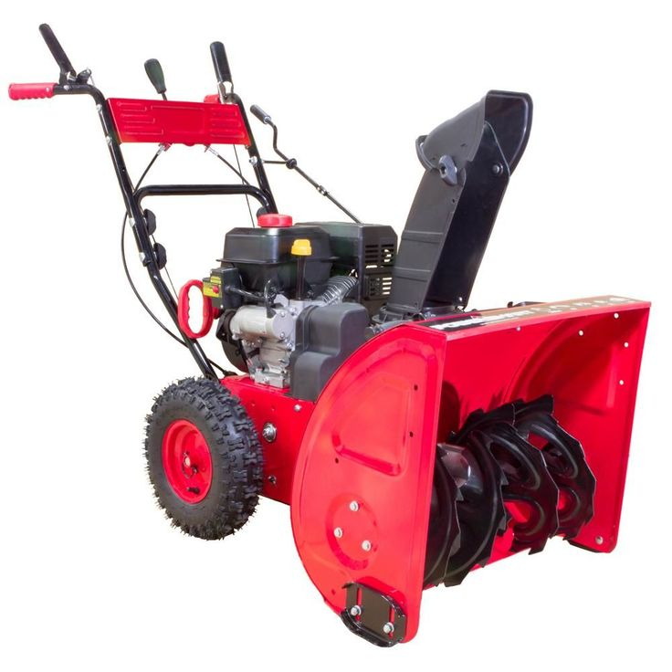 PowerSmart 24 in. 212cc Two-Stage Gas Snow Blower-DB765124 - The Home Depot