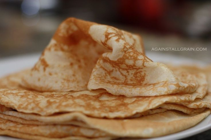 Grain-Free Crepes/Tortillas - from Against All Grain