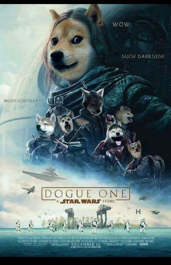 DOGUE ONE A STAR WARS STORY WIE SUCH DARKSIDE MUCH CONTRAST