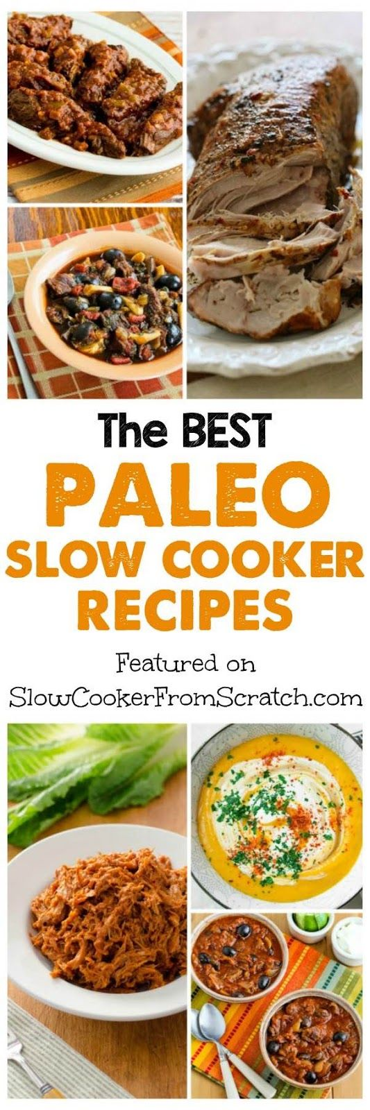 The BEST Paleo Slow Cooker Recipes; healthy grain-free and dairy-free recipes to make in the crockpot!  [featured on SlowCookerFromScratch.com]