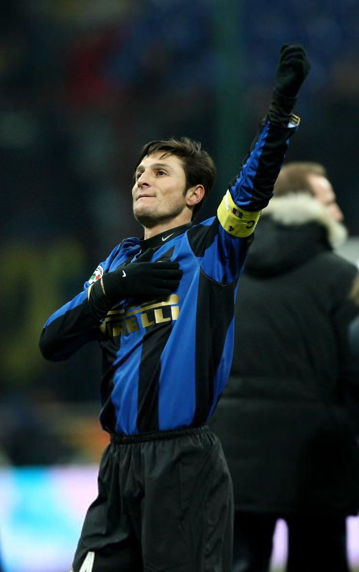 14. Javier Zanetti | right-back | Argentina