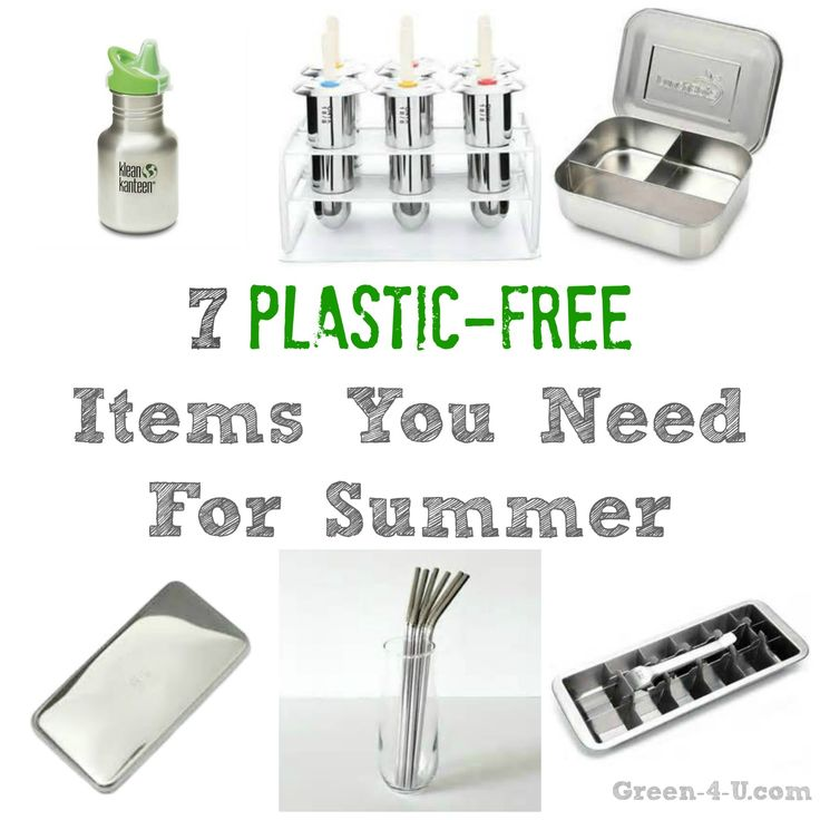 7 Plastic Free Items You Need For Summer @friendsheepwool: MUST HAVE! IF YOU DON'T ALREADY... ;) CHECK OUT GLASS BOTTLES AND GLASS STRAWS AS WELL