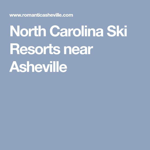 North Carolina Ski Resorts near Asheville