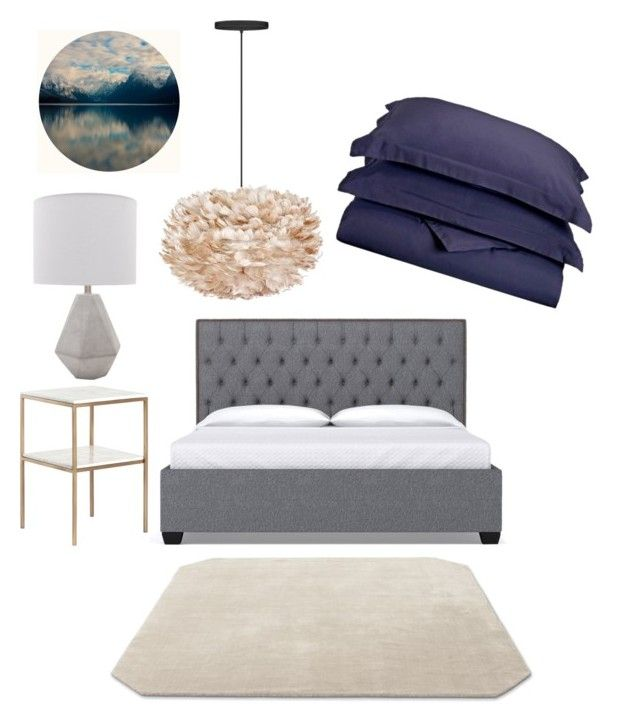 Master bedroom by majkenmatilda on Polyvore featuring polyvore, interior, interiors, interior design, home, home decor, interior decorating, Eos, &Tradition and bedroom