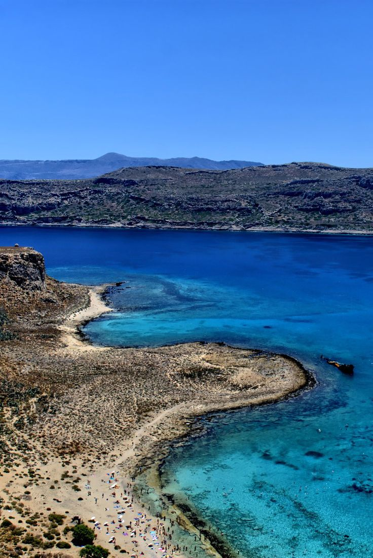 Balos Lagoon in Kissamos, Chania!