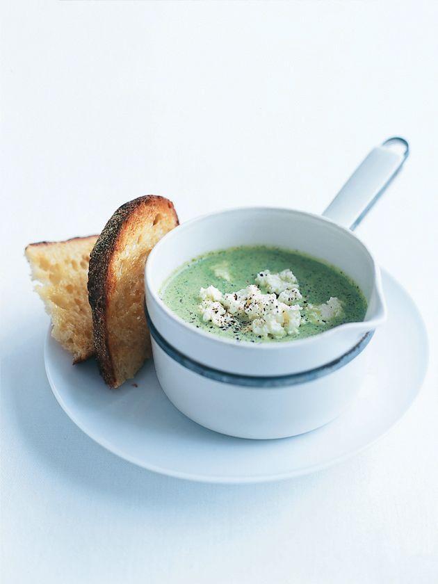 walnuts ricotta and lemon broccoli soup with lemon and ricotta recipes ...