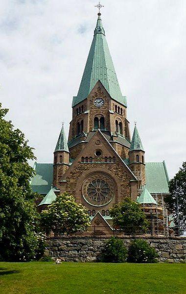 Church of St. Sofia at Sodermalm - Stockholm, Sweden