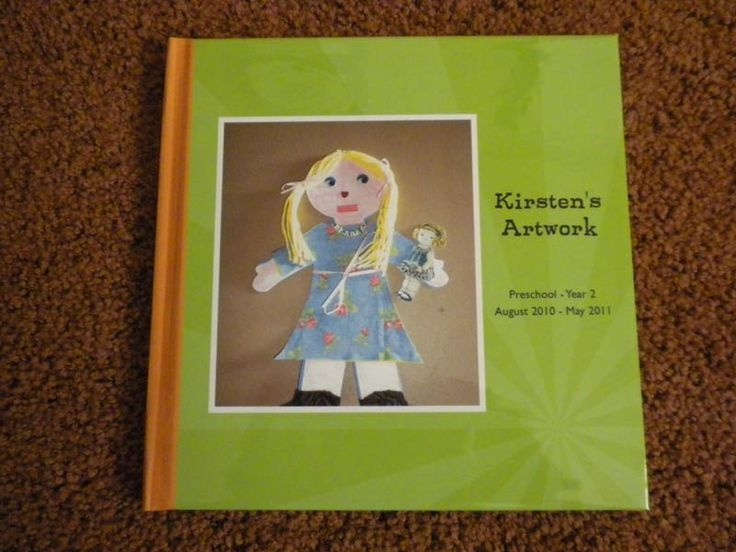 Preserving kids art work in photo books. Via @Shutterfly.  LOVE this idea!
