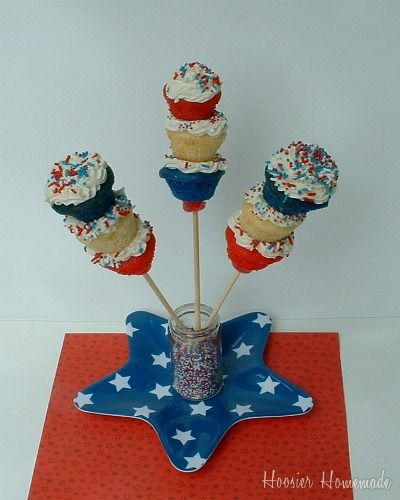 4th July Cupcakes