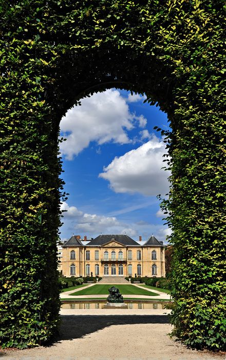 The mansion that now houses the Musée Rodin was built in the Rue de Varenne, Paris, between 1727 and 1737, for the wealthy financier Abraham Peyrenc de Moras (1686-1732). The project, eventually overseen by Jean Aubert, Architect to the King, is a shining example of the rocaille architecture that was fashionable at this time. Constructed on the outer limits of Paris, it was both a town house and a country residence. Abraham Peyrenc de Moras died in 1732, before his new home, notably the…