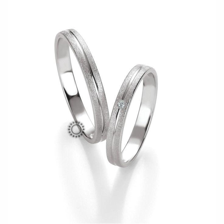 Βέρες γάμου BENZ 021 & 022 - Λεπτές λευκόχρυσες βέρες Benz σε υπέροχο ματ ανάγλυφο | Βέρες ΤΣΑΛΔΑΡΗΣ στο Χαλάνδρι #βέρες #βερες #γάμου